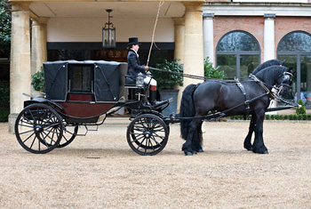 The Landau Wedding Carriage